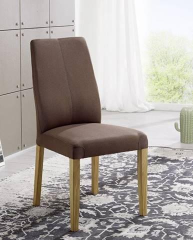 VIENNA Jedálenská stolička, tmavohnedá