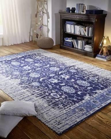 YAKOTA Koberec Vintage modrý 200x300 cm