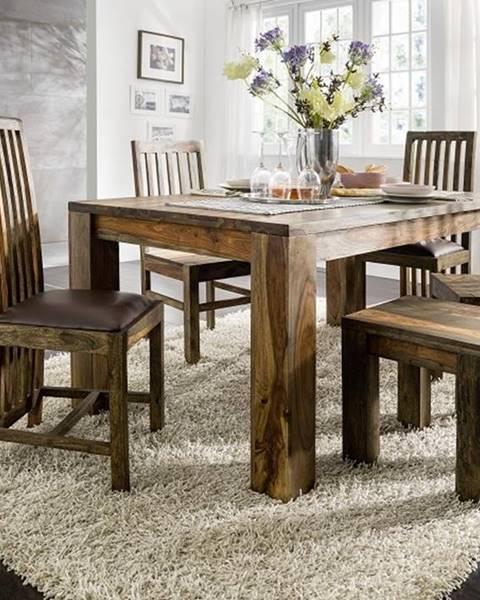Bighome.sk PLAIN SHEESHAM Jedálenský stôl 220x100 cm