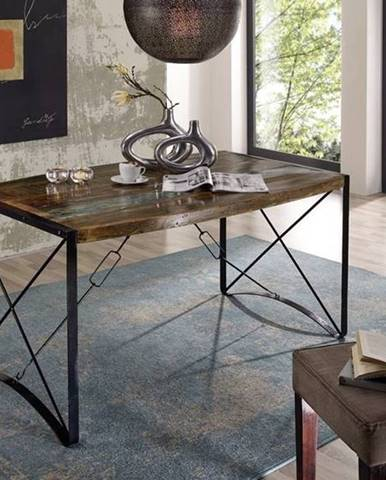 INDUSTRY Jedálenský stôl 150x90 cm, staré drevo
