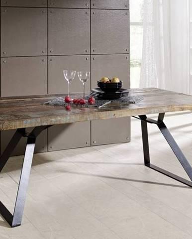 INDUSTRY Jedálenský stôl 180x90 cm, staré drevo