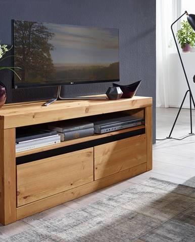 ALBURY TV stolík 110x49 cm, borovica, prírodná