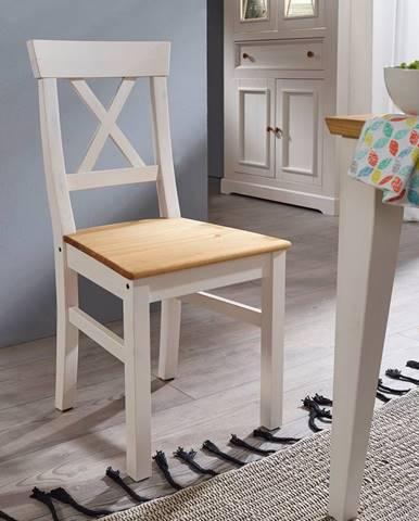 BIANCA Jedálenská stolička, borovica