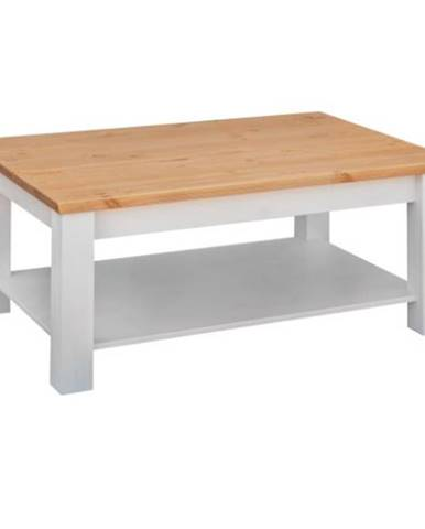 BIANCA Konferenčný stolík 110x75 cm, borovica