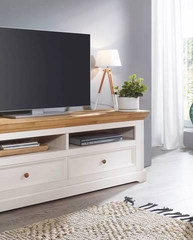 BIANCA TV stolík 169x63 cm, borovica