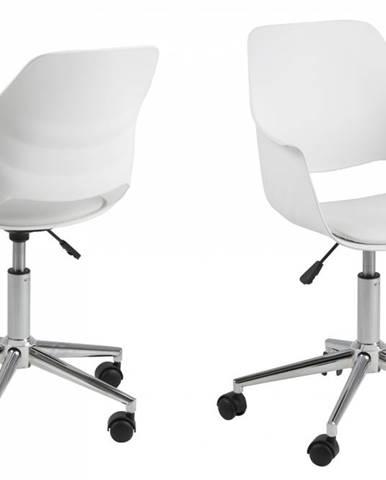 Kancelárska stolička RAMONA, biela