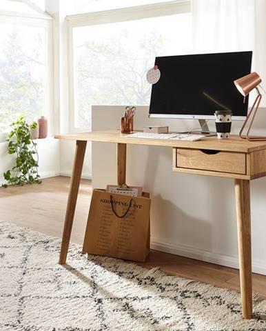 MELBOURNE Písací stôl 120 cm, dub