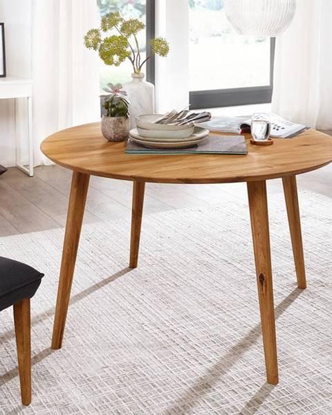 Bighome.sk CANBERRA Jedálenský stôl 75x75 cm, dub