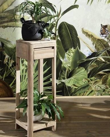MONTREAL Príručný stolík 30x30x90 cm, palisander