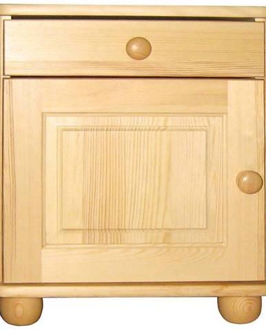 Nočný stolík borovica filunek