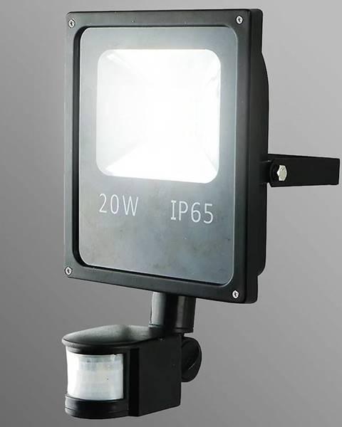 MERKURY MARKET LED reflektor 20W s pohybovám senzorom studená EK518