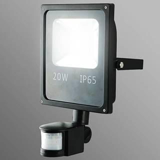 LED reflektor 20W s pohybovám senzorom studená EK518