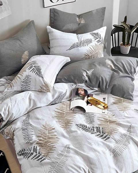 MERKURY MARKET Bavlnená saténová posteľná bielizeň ALBS-01128B