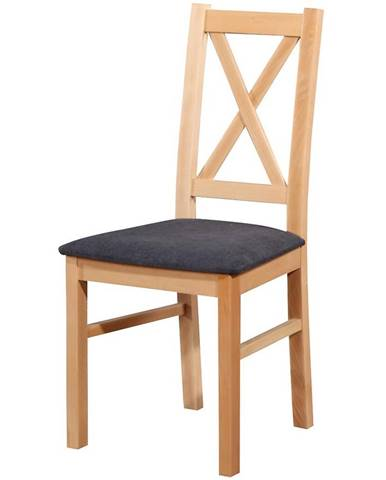 Stolička W113 bukový lak asti19