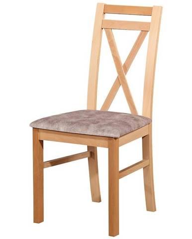 Stolička W114 bukový lak livia 8