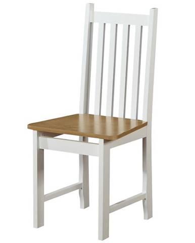 Stolička W122 biely/wotan