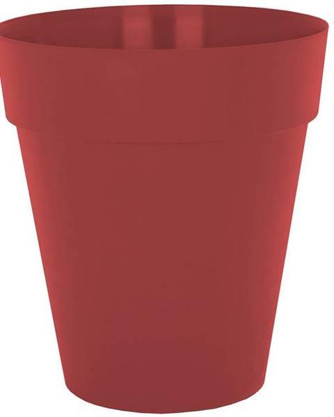 MERKURY MARKET Kvetináč CAPRI HIGH 56 cm dark red