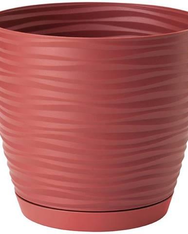 Sahara Petit okrúhly s podstavcom 15 cm červená