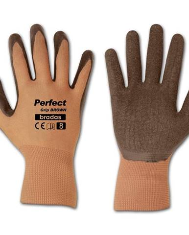 Ochranné rukavice Perfect hnedý