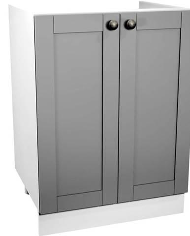 Kuchynská skrinka Linea D60Z grey