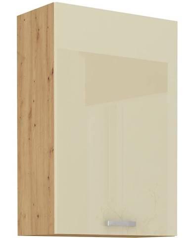 Skrinka do kuchyne ARTISAN crema lesklá 60G-90 1F