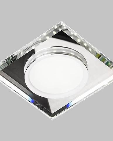 Stropné svietidló SSP-22 CH/TR+WH 8W LED štvorcový 2263885
