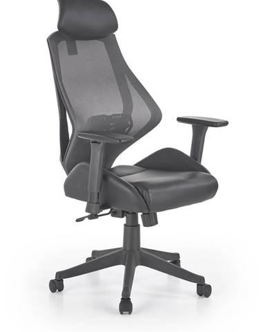Hasel kancelárske kreslo s podrúčkami čierna
