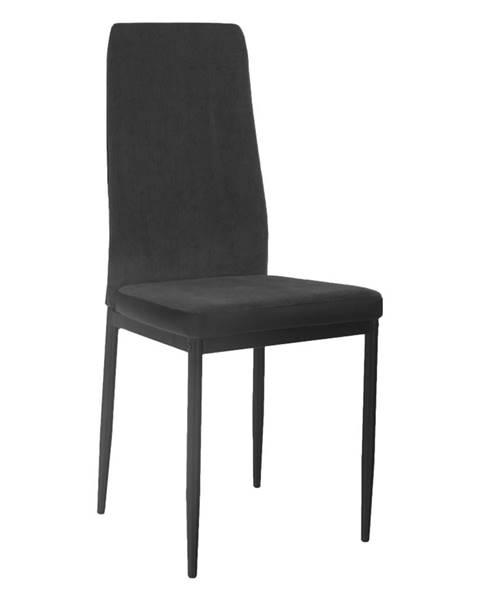 Kondela Enra jedálenská stolička tmavosivá