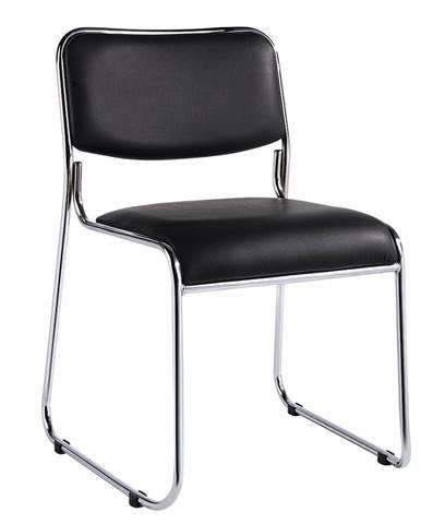 Bulut konferenčná stolička čierna