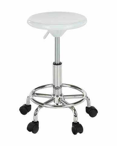 Mabel 3 New stolička na kolieskach biela