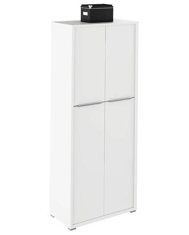 Rioma Typ 07 štvordverová kancelárska skriňa biela