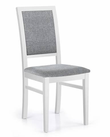 Sylwek 1 jedálenská stolička biela