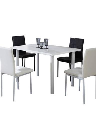 Unita jedálenský stôl biela