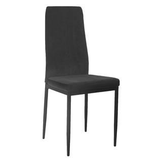 Enra jedálenská stolička tmavosivá