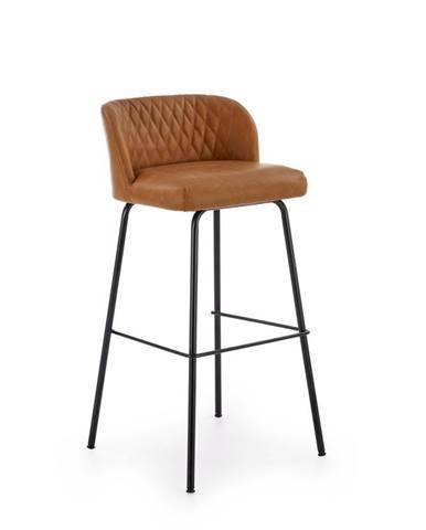 H-92 barová stolička svetlohnedá