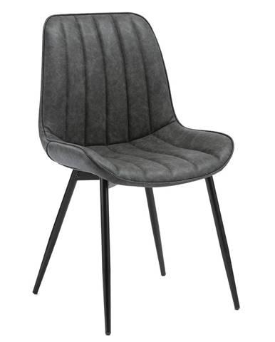 Hazal jedálenská stolička tmavosivá