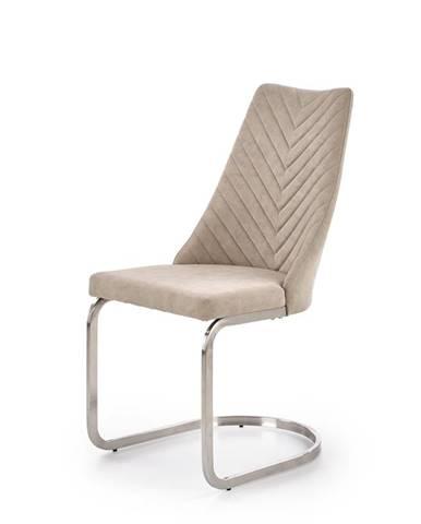 K322 jedálenská stolička svetlobéžová