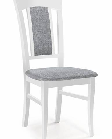 Konrad jedálenská stolička biela