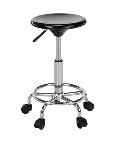 Mabel 3 New stolička na kolieskach čierna