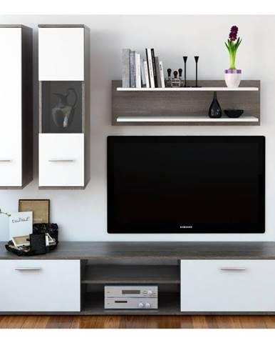 Waw New obývacia stena dub truflový