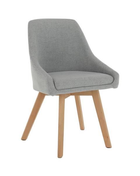 Kondela Teza jedálenská stolička sivá