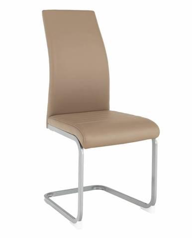 Nobata jedálenská stolička sivohnedá (taupe)