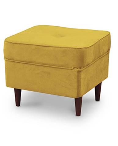 Rufino taburetka žltá