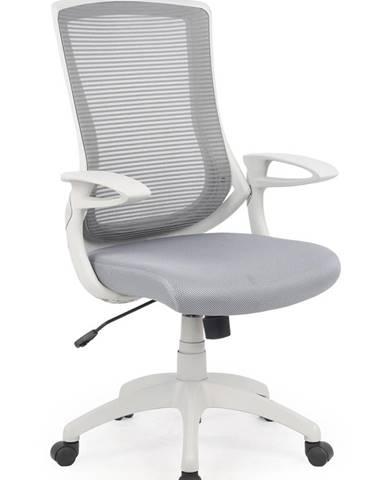 Igor kancelárska stolička s podrúčkami sivá