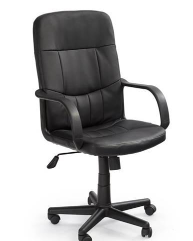 Denzel kancelárske kreslo s podrúčkami čierna