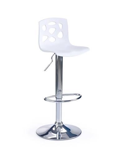 H-48 barová stolička biela