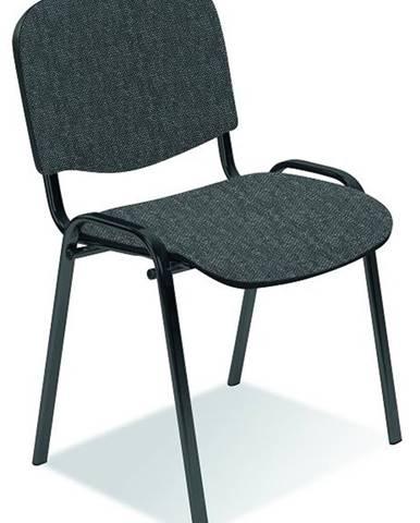 Iso konferenčná stolička sivá (C73)