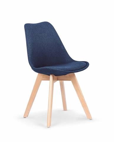 K303 jedálenská stolička tmavomodrá