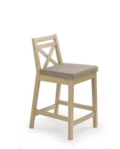 Borys Low barová stolička dub sonoma