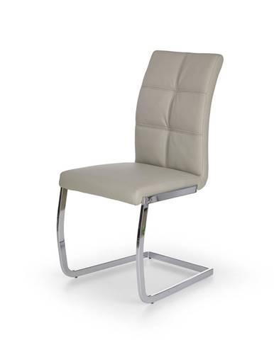 K228 jedálenská stolička svetlosivá